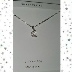Jewelry - To The Moon & Back Necklace NWT